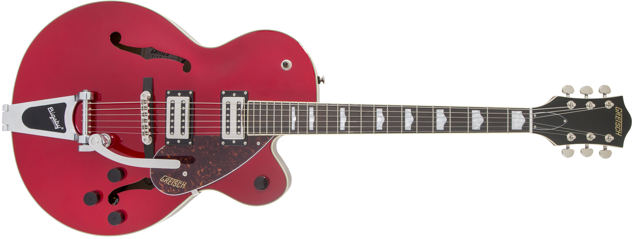 GRETSCH G2420T Streamliner Hollow Body with Bigsby, Laurel Fingerboard, BroadTron BT-2S Pickups, Candy Apple Red