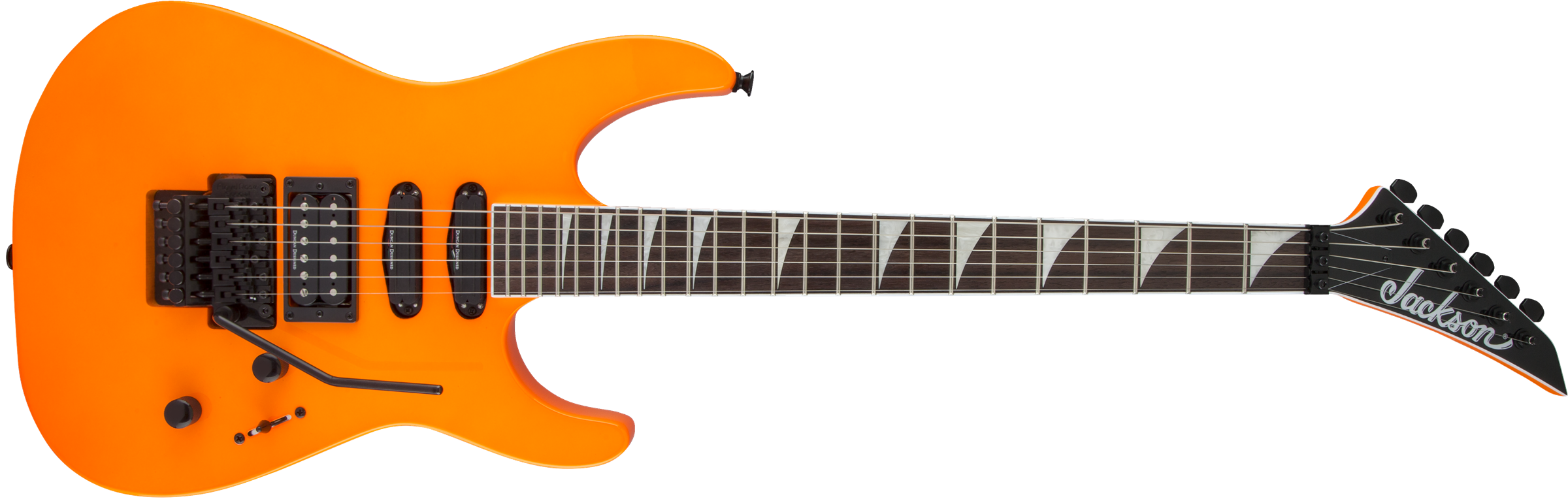 JACKSON X Series Soloist SL3X, Rosewood Fingerboard, Neon Orange