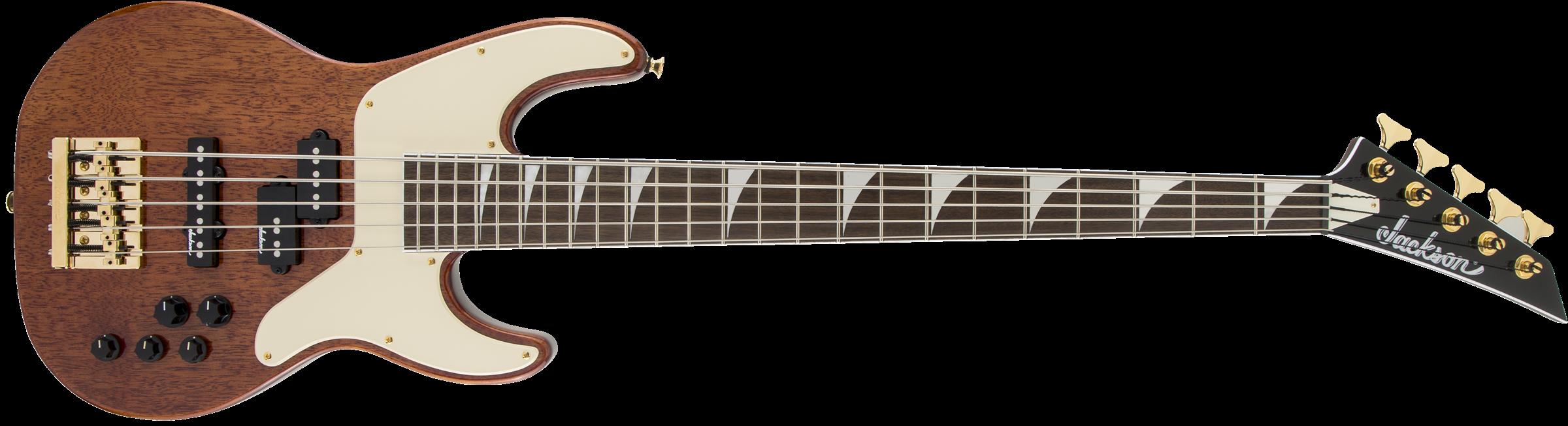 JACKSON X Series Concert Bass CBXNT V MAH, Laurel Fingerboard, Natural