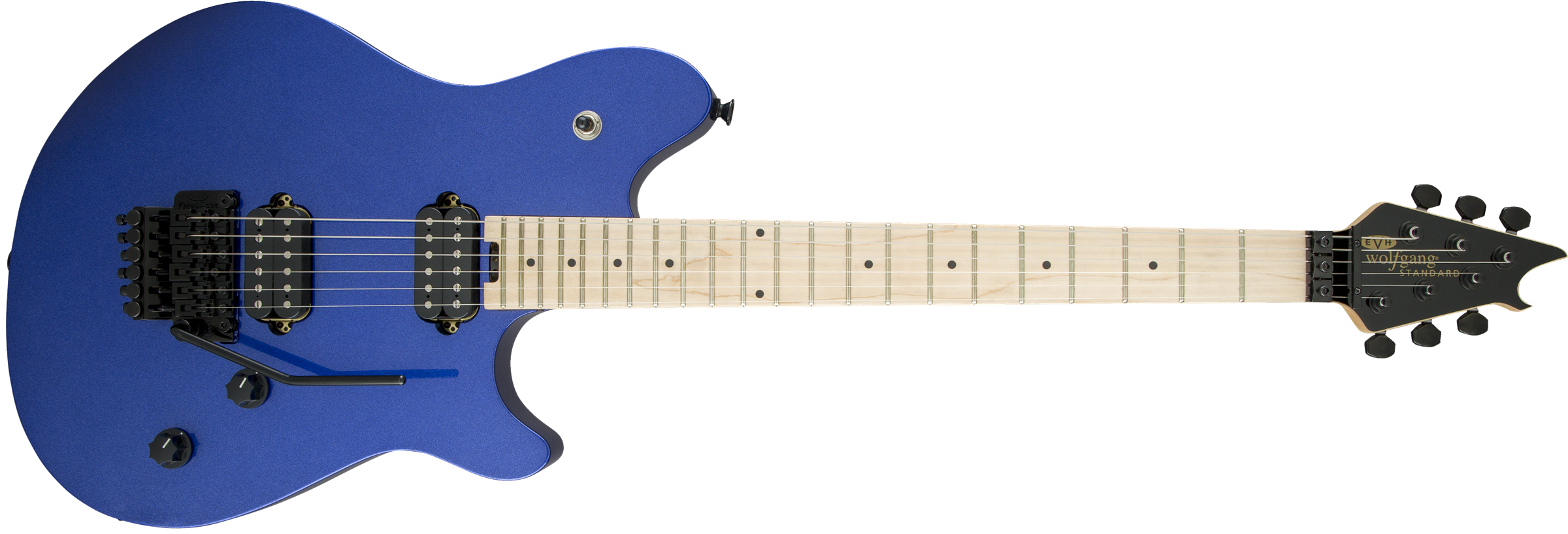 EVH® Wolfgang® WG Standard, Maple Fingerboard, Mystic Blue Metallic