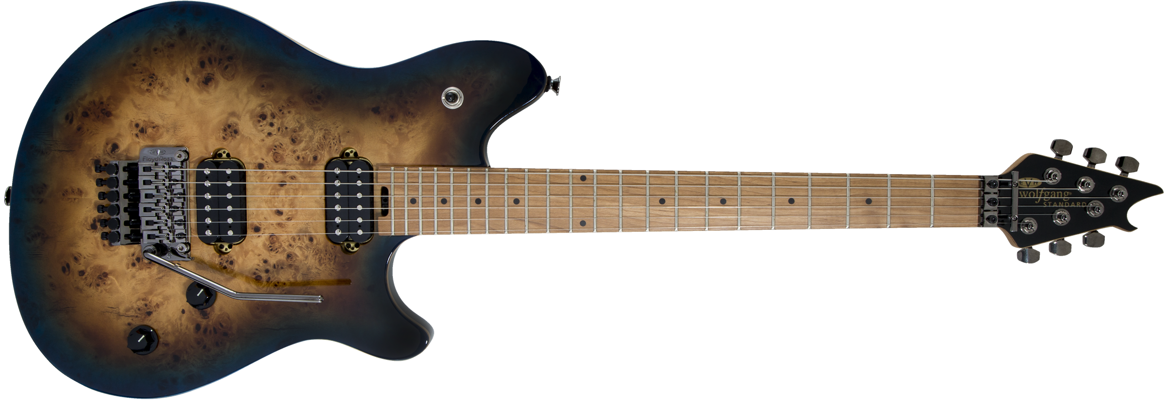 Wolfgang® WG Standard Exotic, Baked Maple Fingerboard, Midnight Sunset