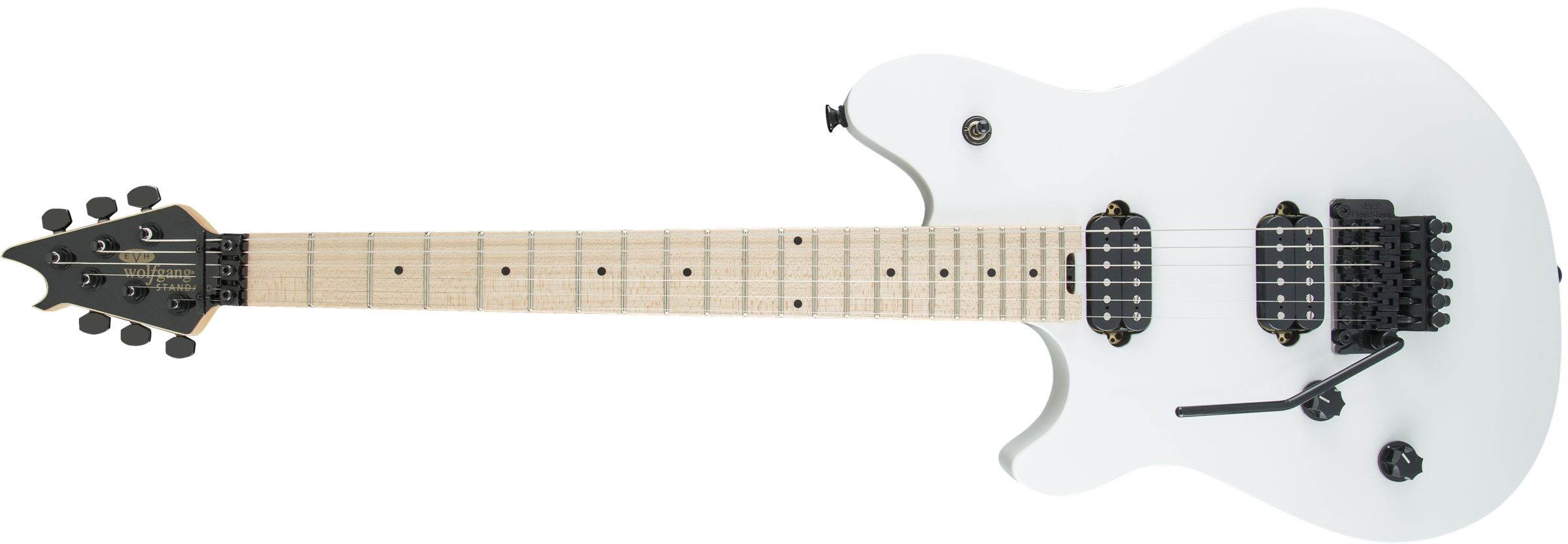 Wolfgang® WG Standard LH, Maple Fingerboard, Snow White
