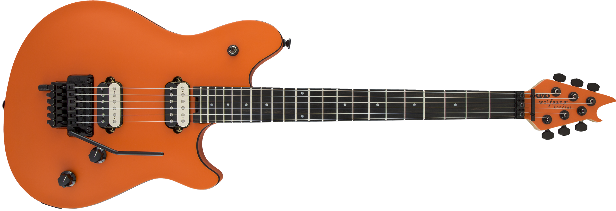 EVH® Wolfgang® Special, Ebony Fingerboard, Satin Orange Crush