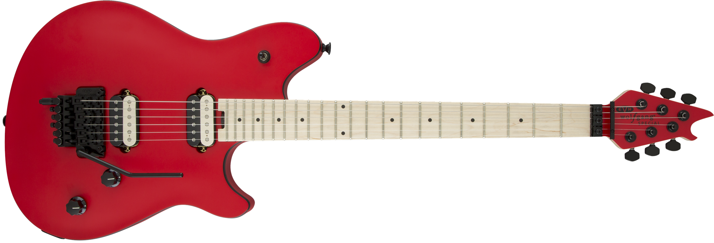 EVH® Wolfgang® Special, Maple Fingerboard, Satin Red