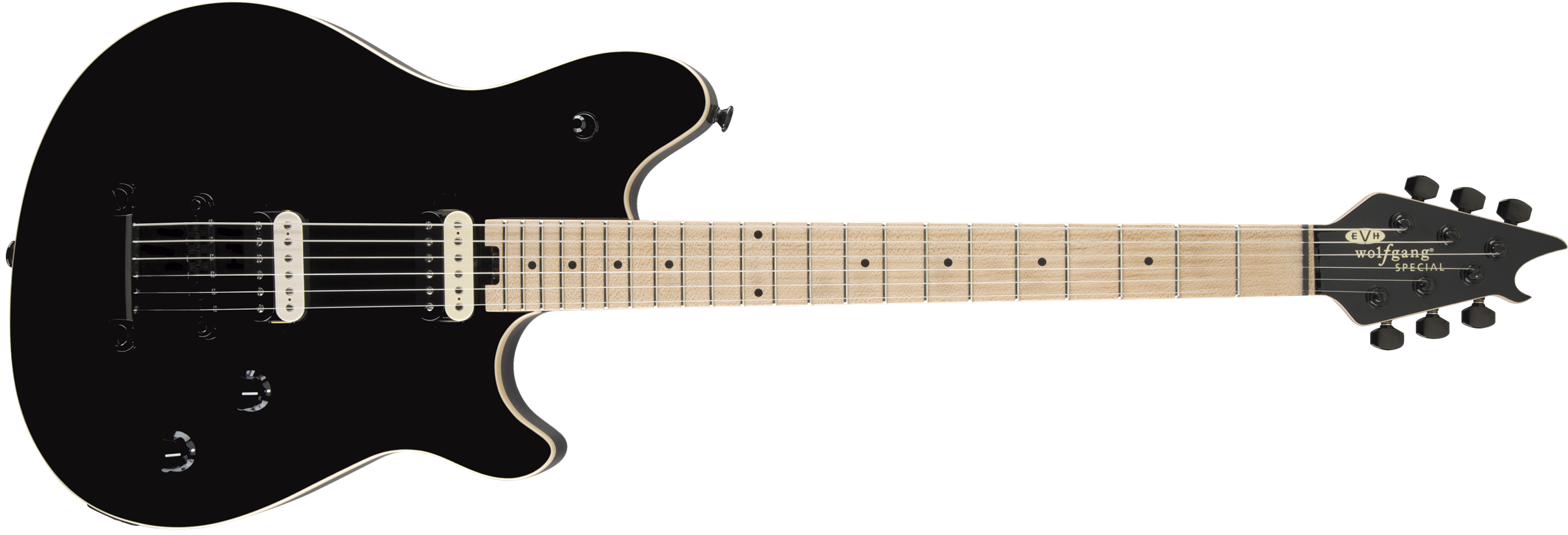 EVH® Wolfgang Special TOM, Maple Fingerboard, Gloss Black