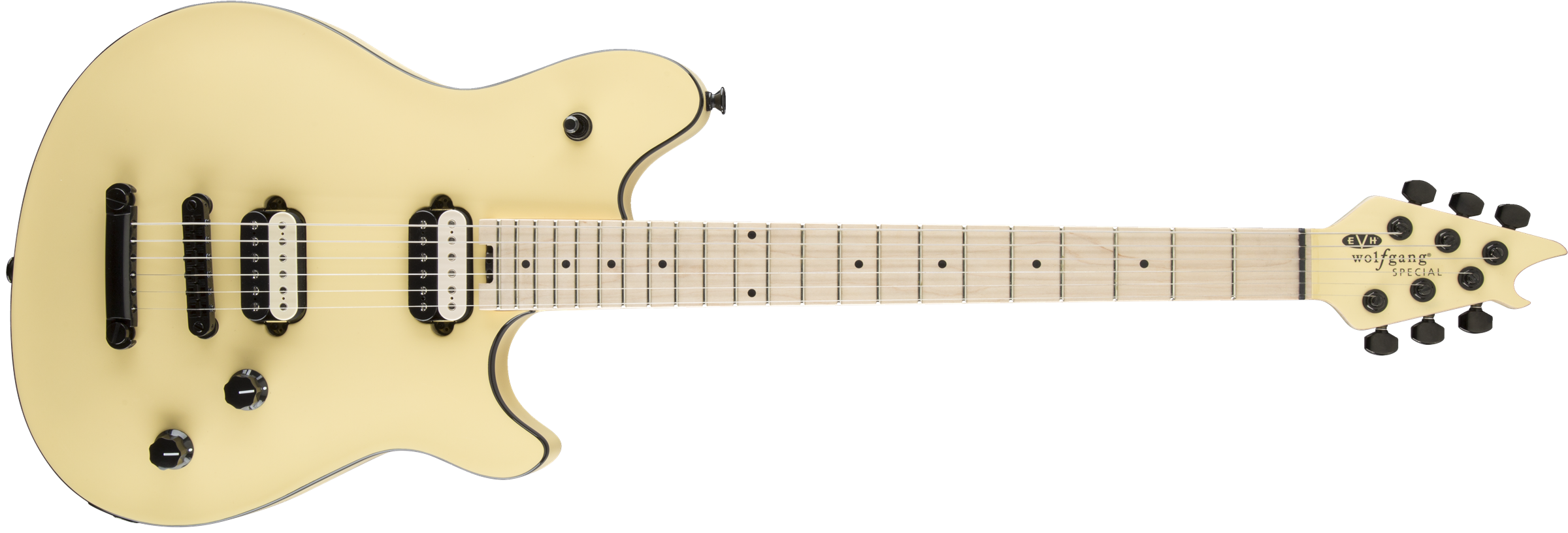 EVH® Wolfgang Special TOM, Maple Fingerboard, Vintage White