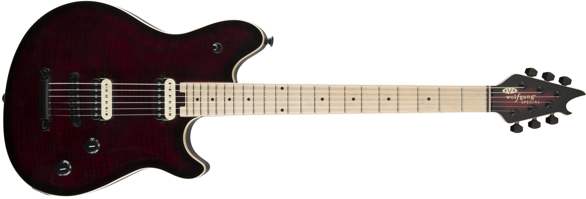 EVH® Wolfgang Special TOM, Maple Fingerboard, Burnt Cherry Sunburst