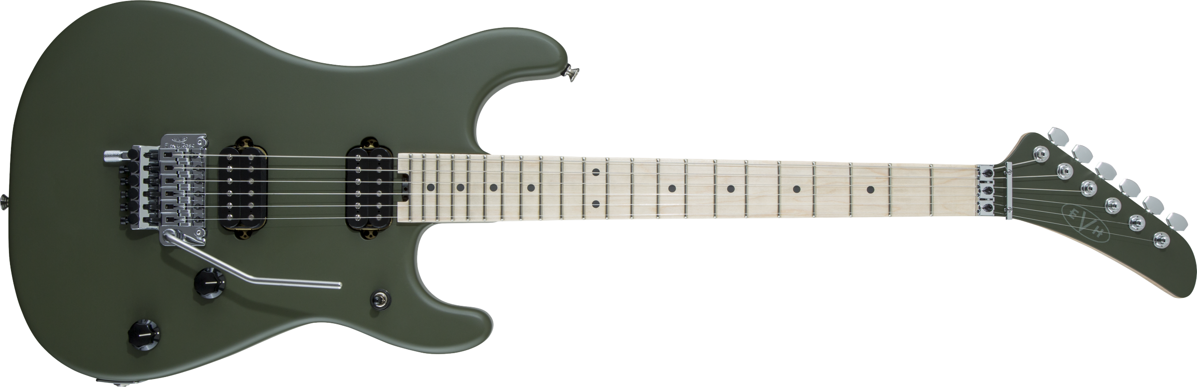 5150® Series Standard, Maple Fingerboard, Matte Army Drab