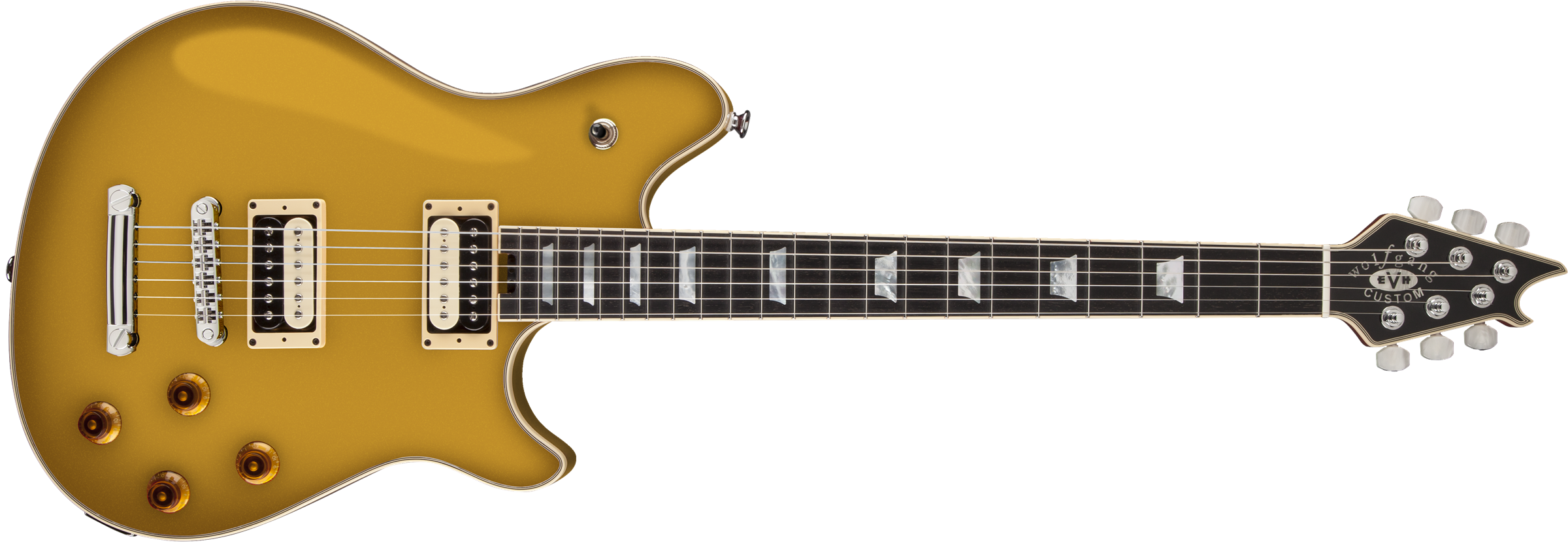 EVH® Wolfgang® USA Custom Deluxe, Ebony Fingerboard, Gold