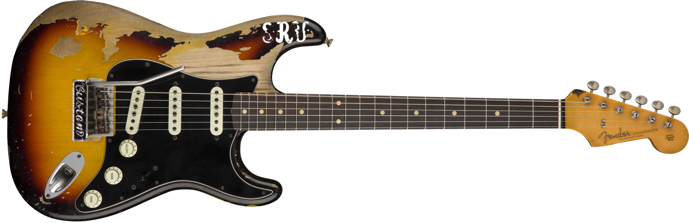 LIMITED EDITION STEVIE RAY VAUGHAN STRATR
