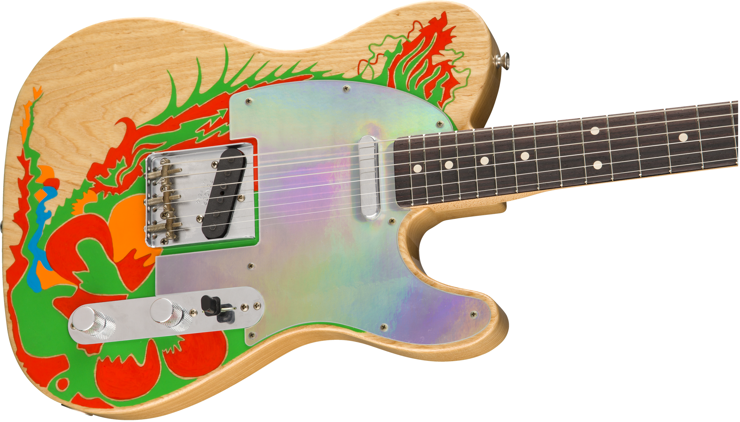 Jimmy Page Dragon® Telecaster® | Artist Series | Fender ... on