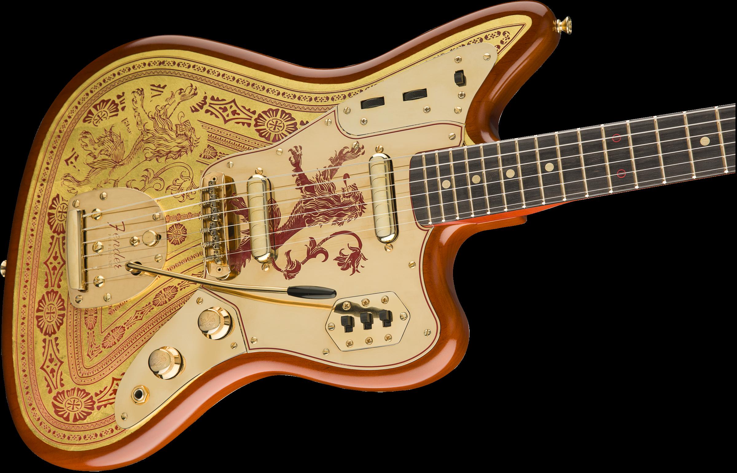 game of thrones house lannister jaguar jaguar electric guitars fender guitars. Black Bedroom Furniture Sets. Home Design Ideas