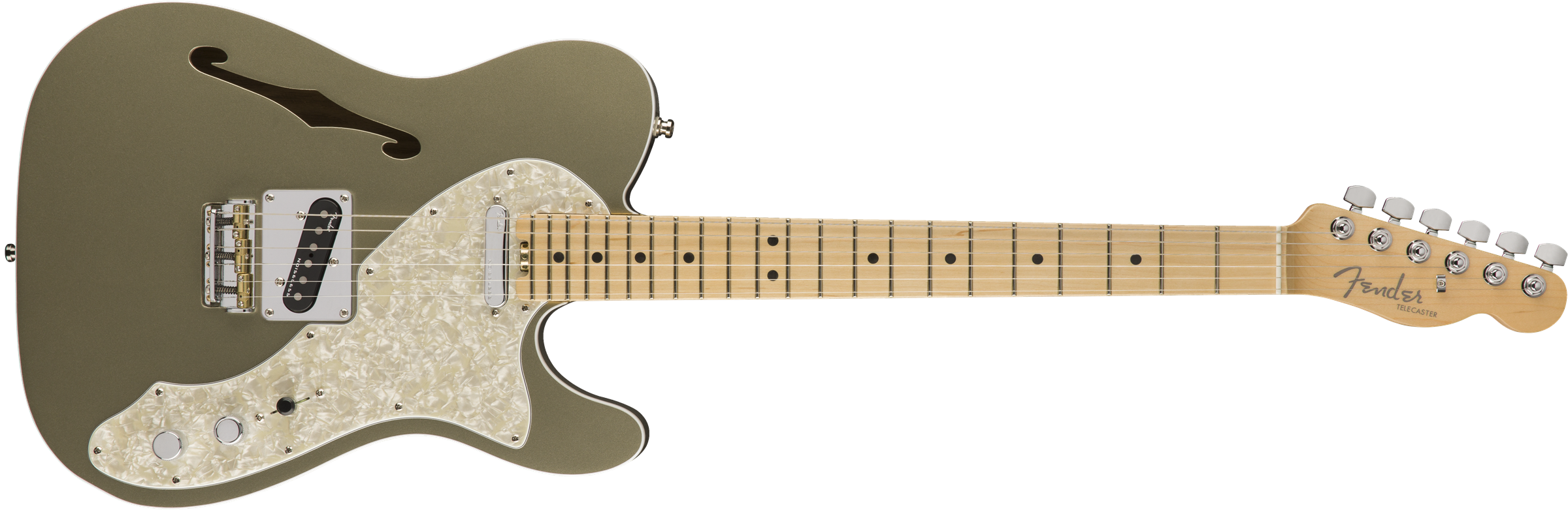FENDER AM AMERICAN ELITE TELE THINLINE MN CHAMP - 0114312774