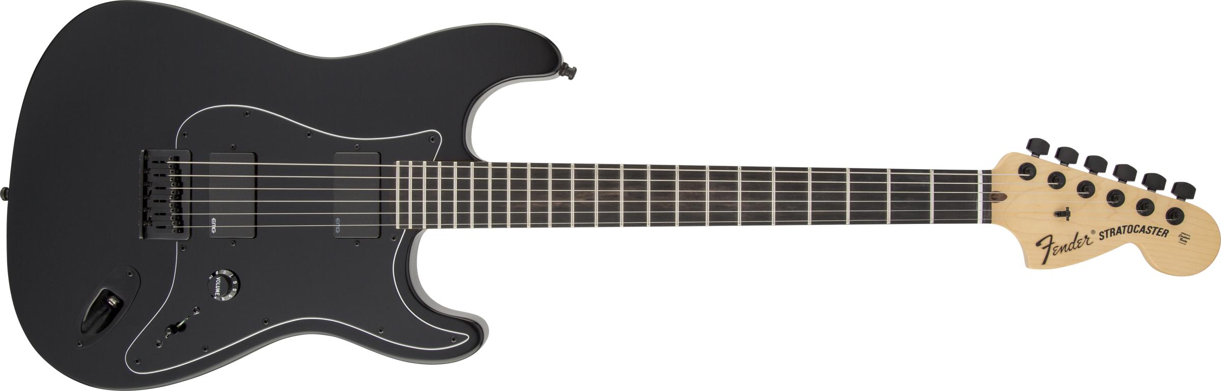 FENDER JIM ROOT Stratocaster FLAT BLACK