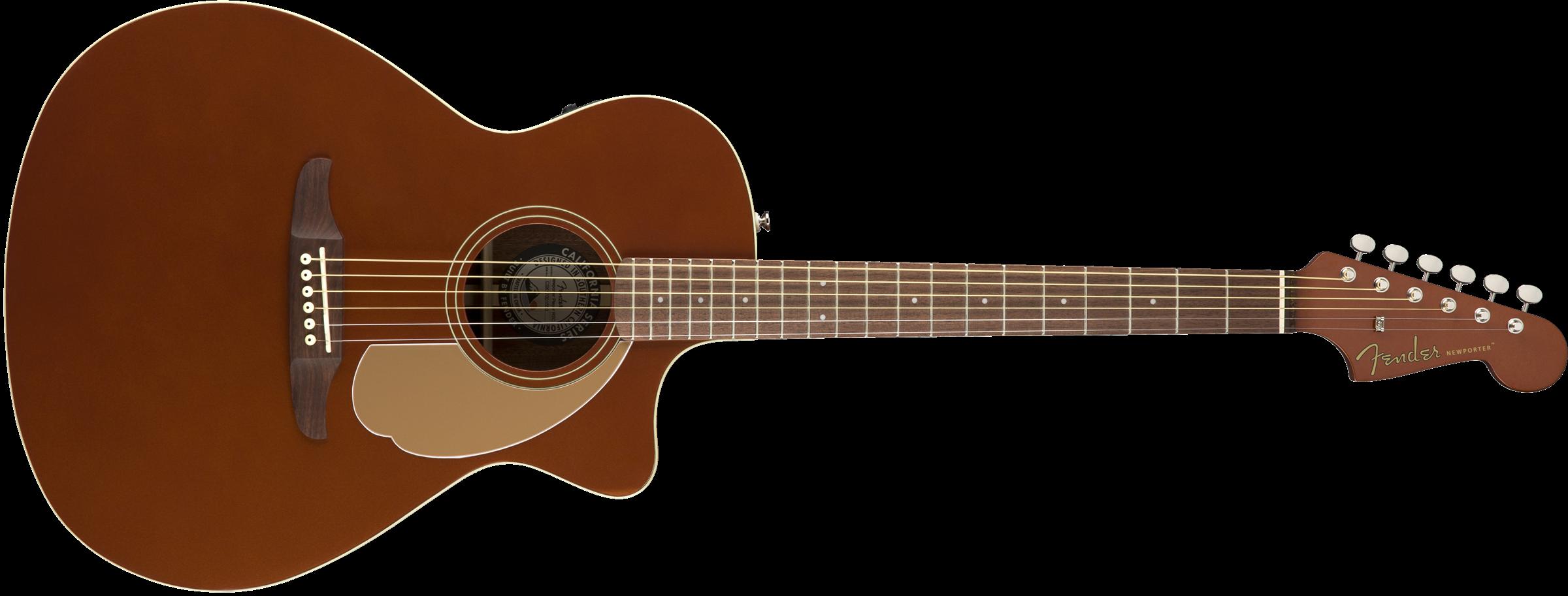 FENDER Newporter Player, Walnut Fingerboard, Rustic Copper