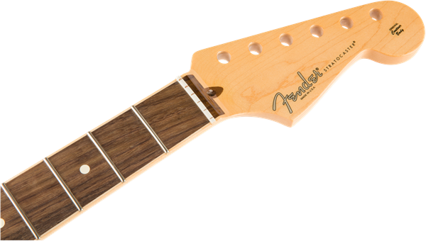 FENDER American Channel Bound Stratocaster Neck, 21 Med Jumbo Frets, Rosewood