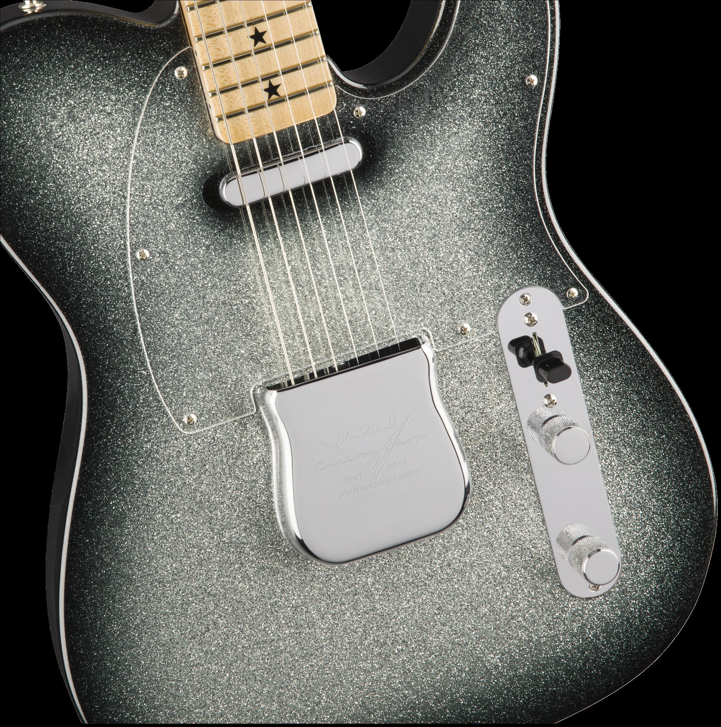 Alan Hamel Founders Design Sparkle Telecaster Electric Guitar Wiring Books Hover To Zoom