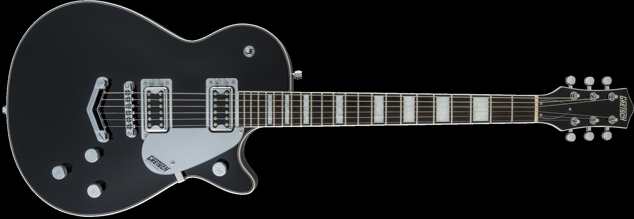GRETSCH G5220 Electromatic Jet BT Single-Cut with V-Stoptail, Black Walnut Fingerboard, Black