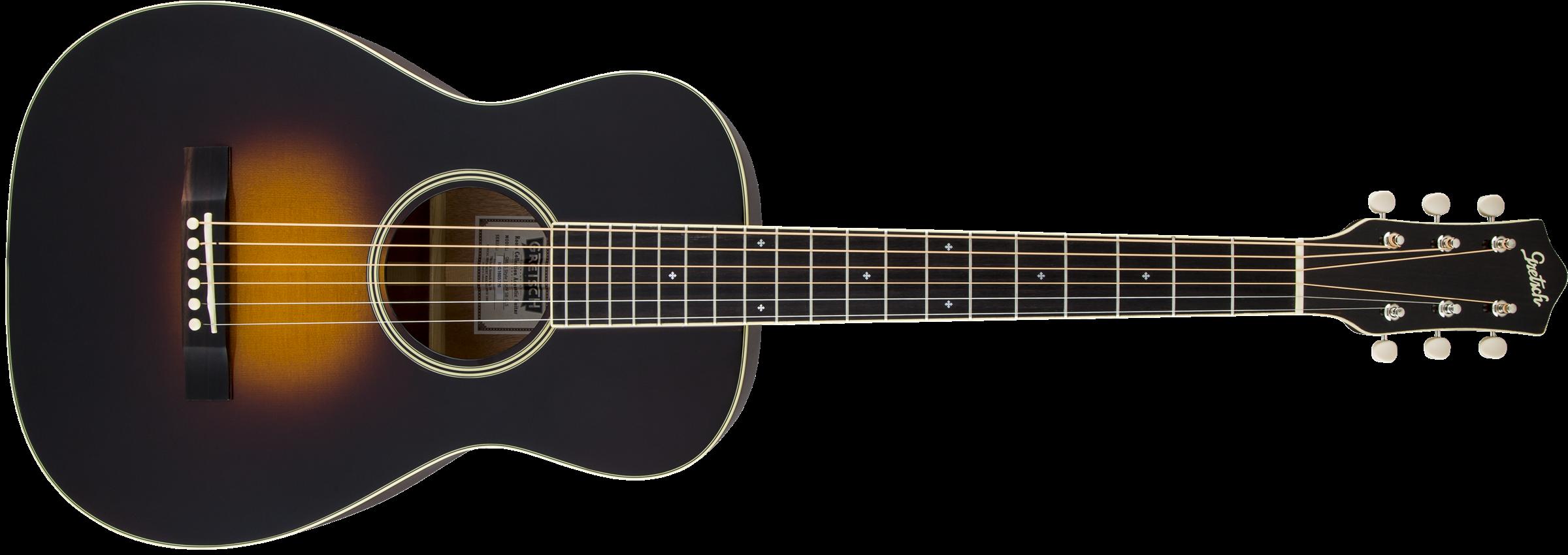 GRETSCH G9511 Style 1 Single-0 Parlor Acoustic Guitar, Appalachia Cloudburst