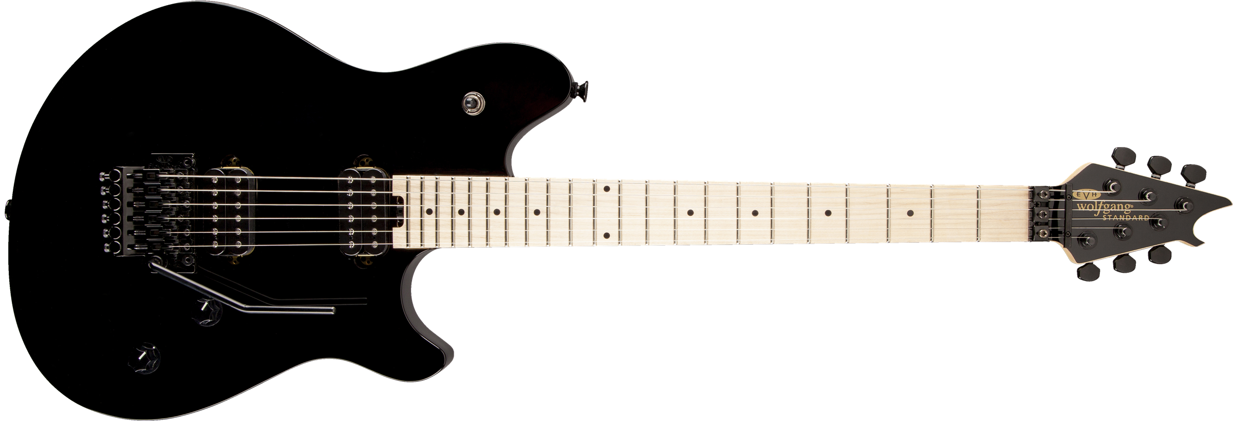 EVH® Wolfgang® WG Standard, Maple Fingerboard, Gloss Black