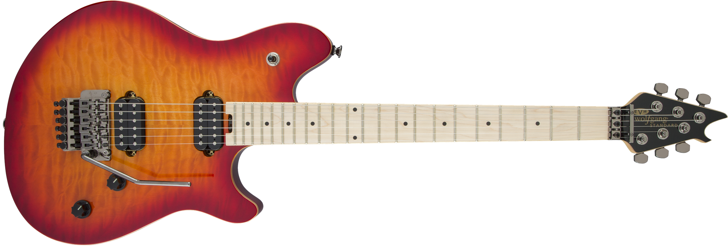Wolfgang® WG Standard QM, Maple Fingerboard, Cherry Sunburst