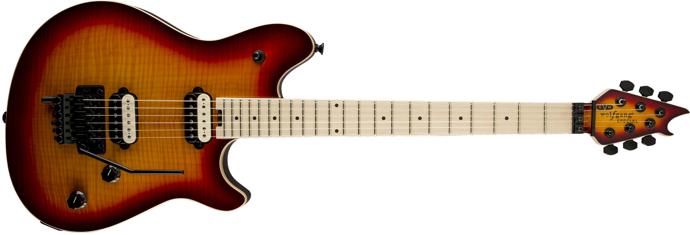EVH® Wolfgang® Special, Maple Fingerboard, 3-Tone Cherry Burst