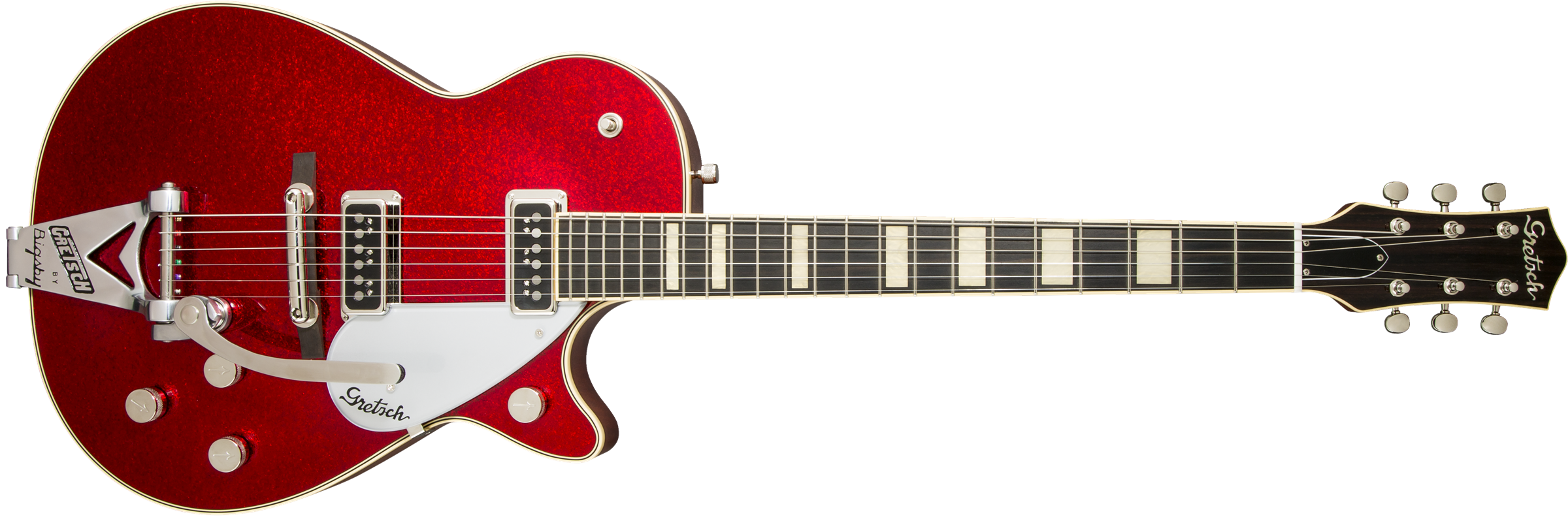 G6129T-RDSP-LTD15 Duo Jet™, Ebony Fingerboard, Red Sparkle