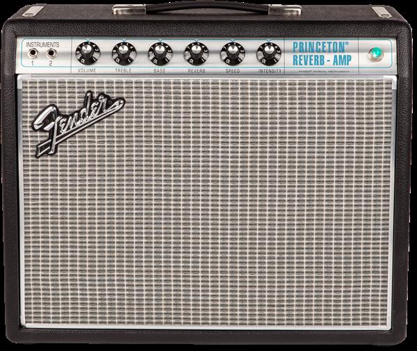 フェンダーのギターアンプ、'68 Custom Princeton Reverbを徹底解説!【Fender】