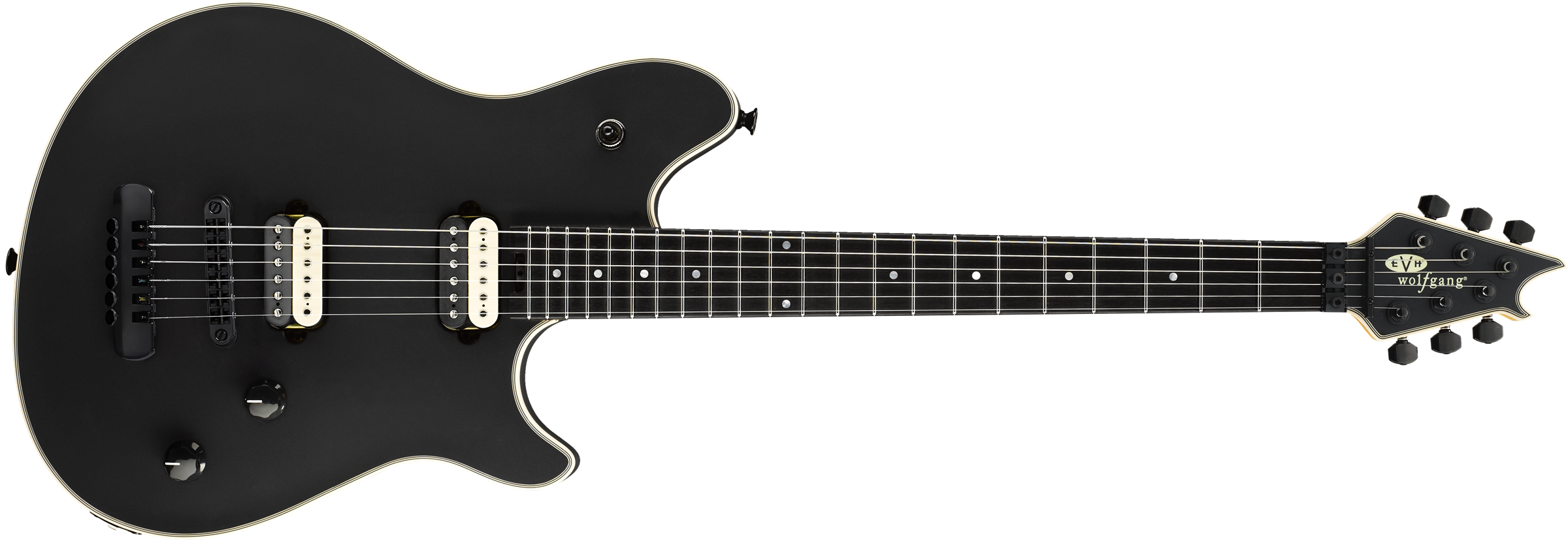 EVH® Wolfgang® USA HT, Ebony Fingerboard, Stealth Black