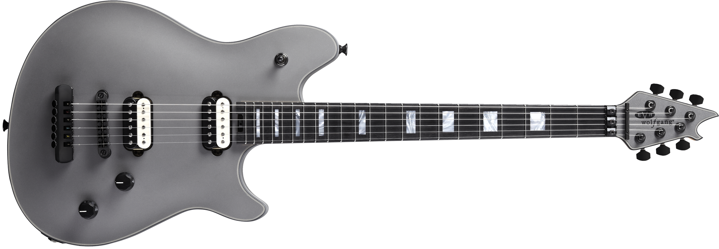 EVH® Wolfgang® USA HT, Ebony Fingerboard, Stealth Gray