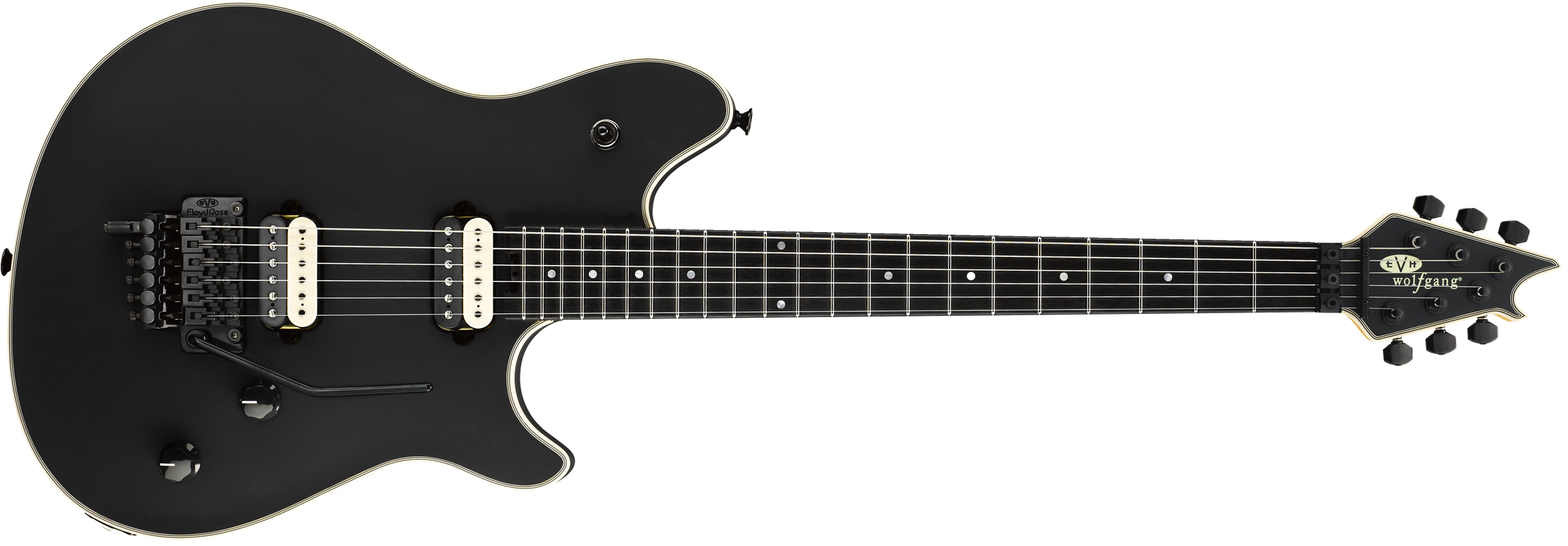 EVH® Wolfgang® Stealth, Ebony Fingerboard, Stealth Black w/ Case