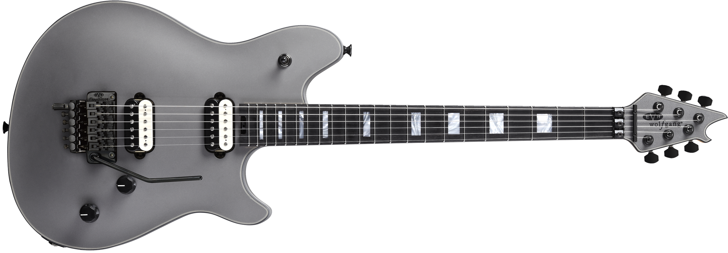 EVH® Wolfgang® USA, Ebony Fingerboard, Stealth Grey