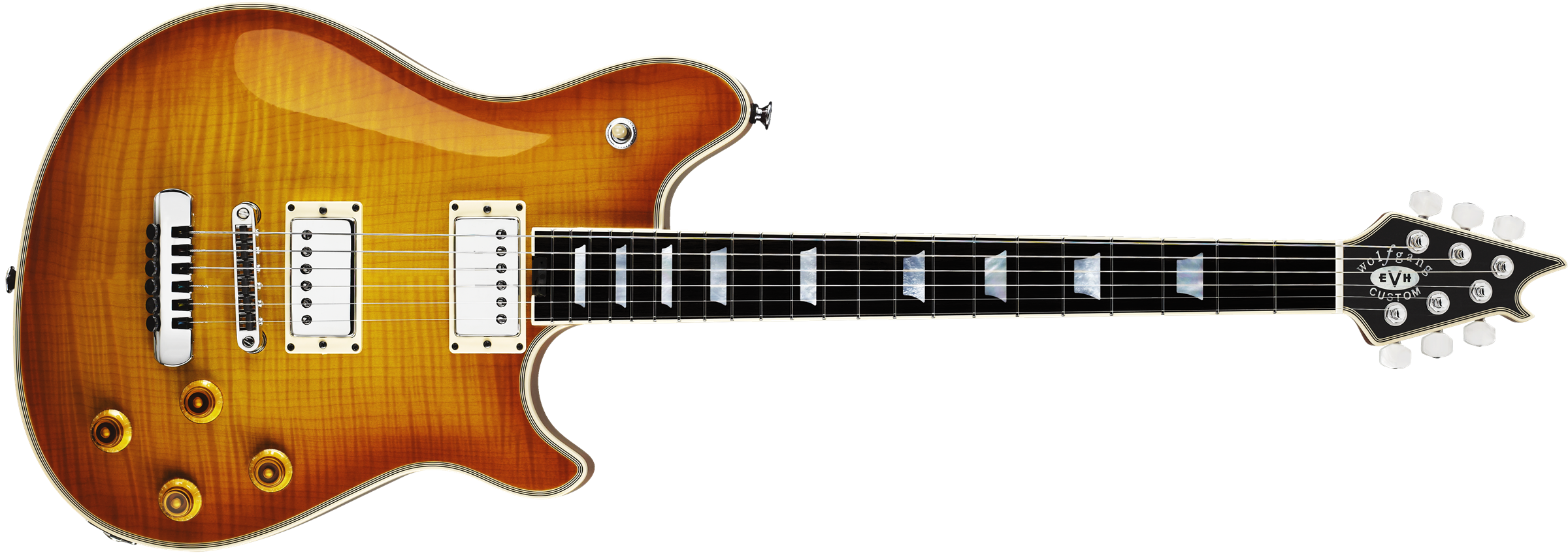 Wolfgang® USA Custom, Ebony Fingerboard, Cherry Burst