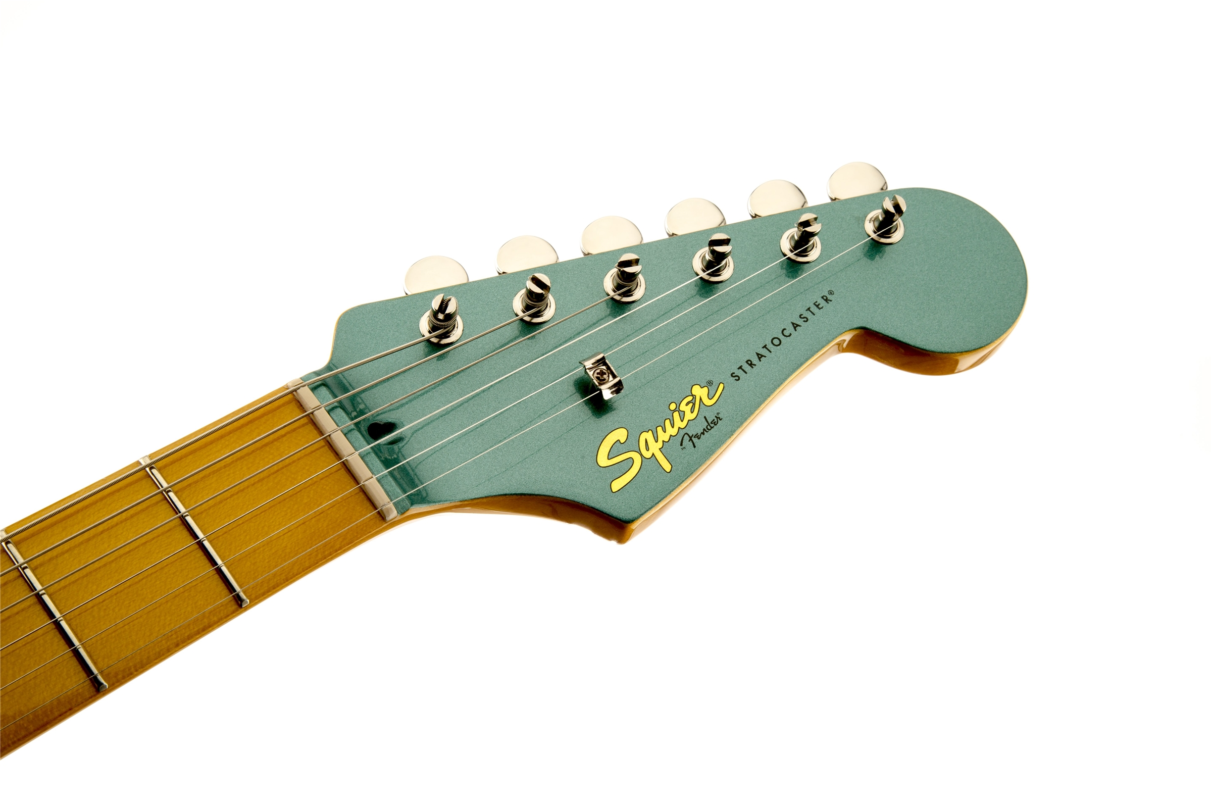squier classic vibe 39 50s stratocaster sherwood green metallic ebay. Black Bedroom Furniture Sets. Home Design Ideas