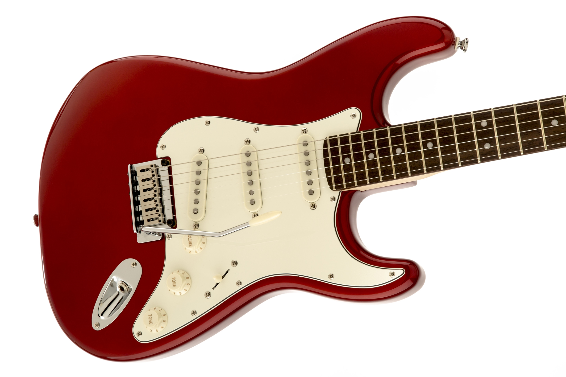 squier standard stratocaster rosewood fingerboard candy apple red squier electric guitars. Black Bedroom Furniture Sets. Home Design Ideas