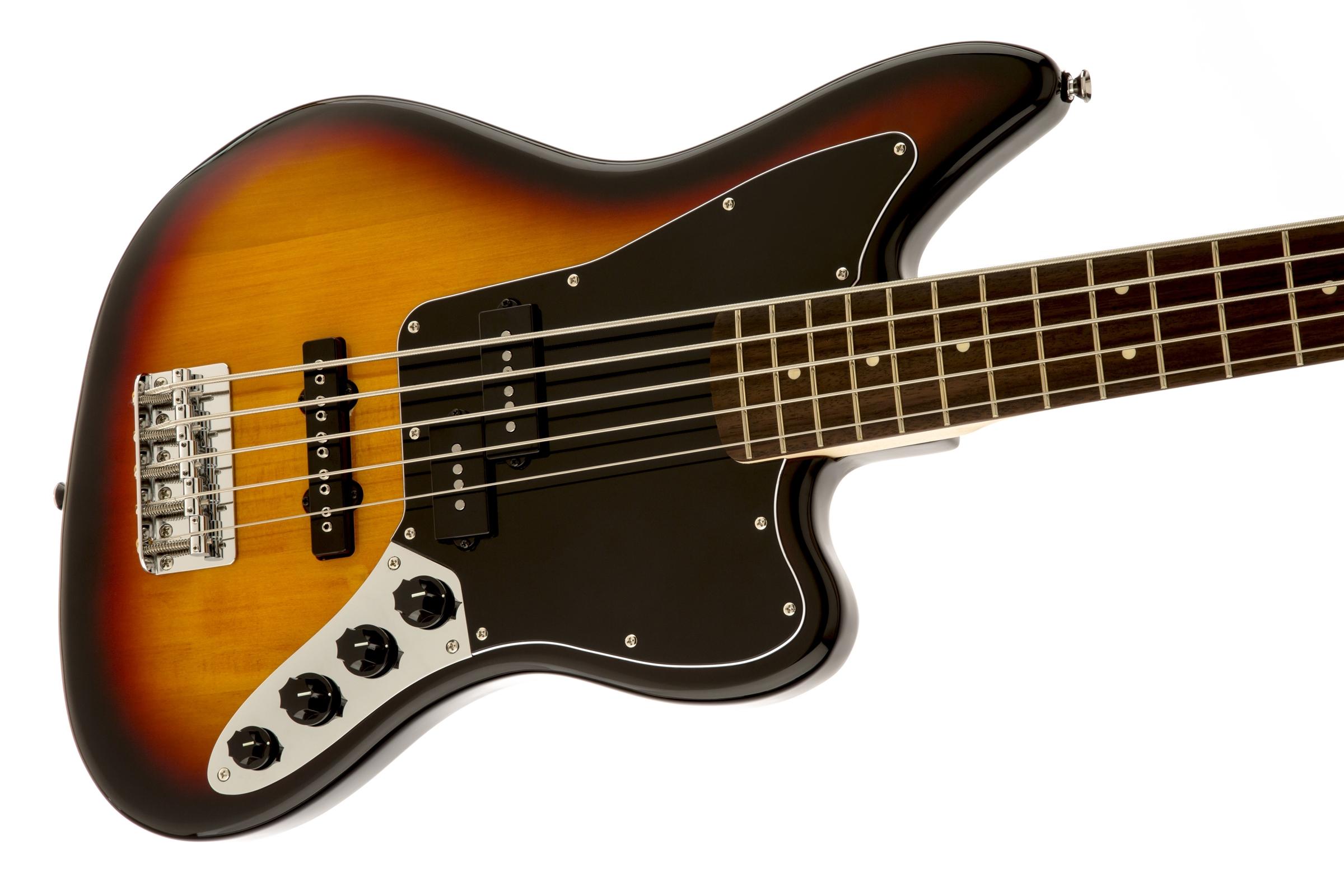 squier vintage modified jaguar bass v special rosewood. Black Bedroom Furniture Sets. Home Design Ideas