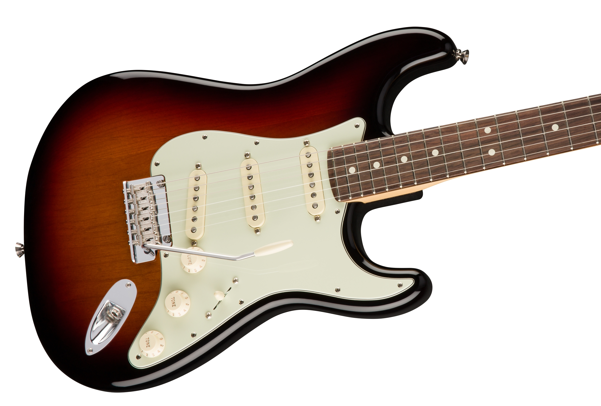 fender american pro stratocaster rosewood fingerboard 3 color sunburst. Black Bedroom Furniture Sets. Home Design Ideas
