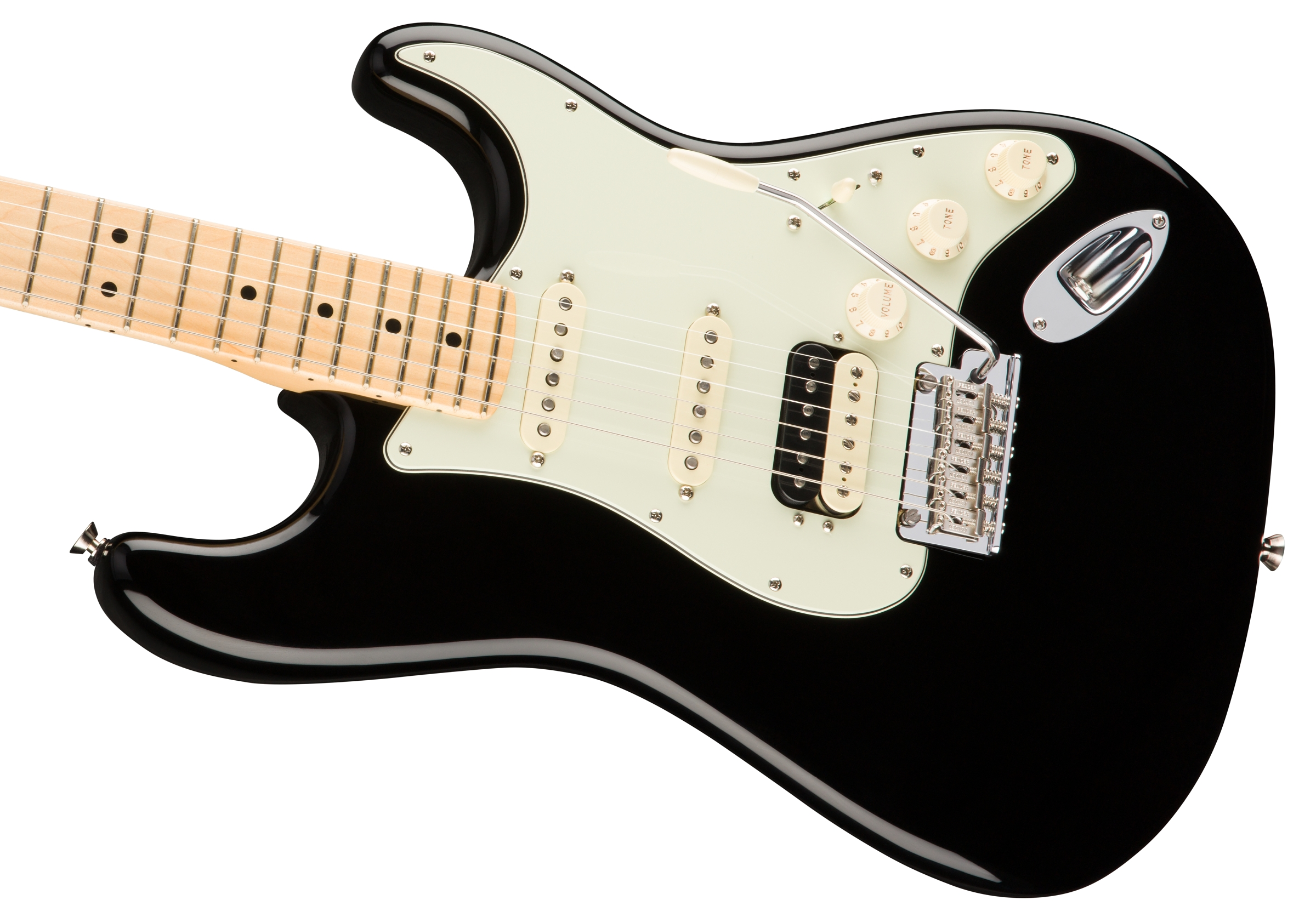 fender american pro stratocaster® hss shawbucker™ maple american professional stratocaster® hss shawbucker black