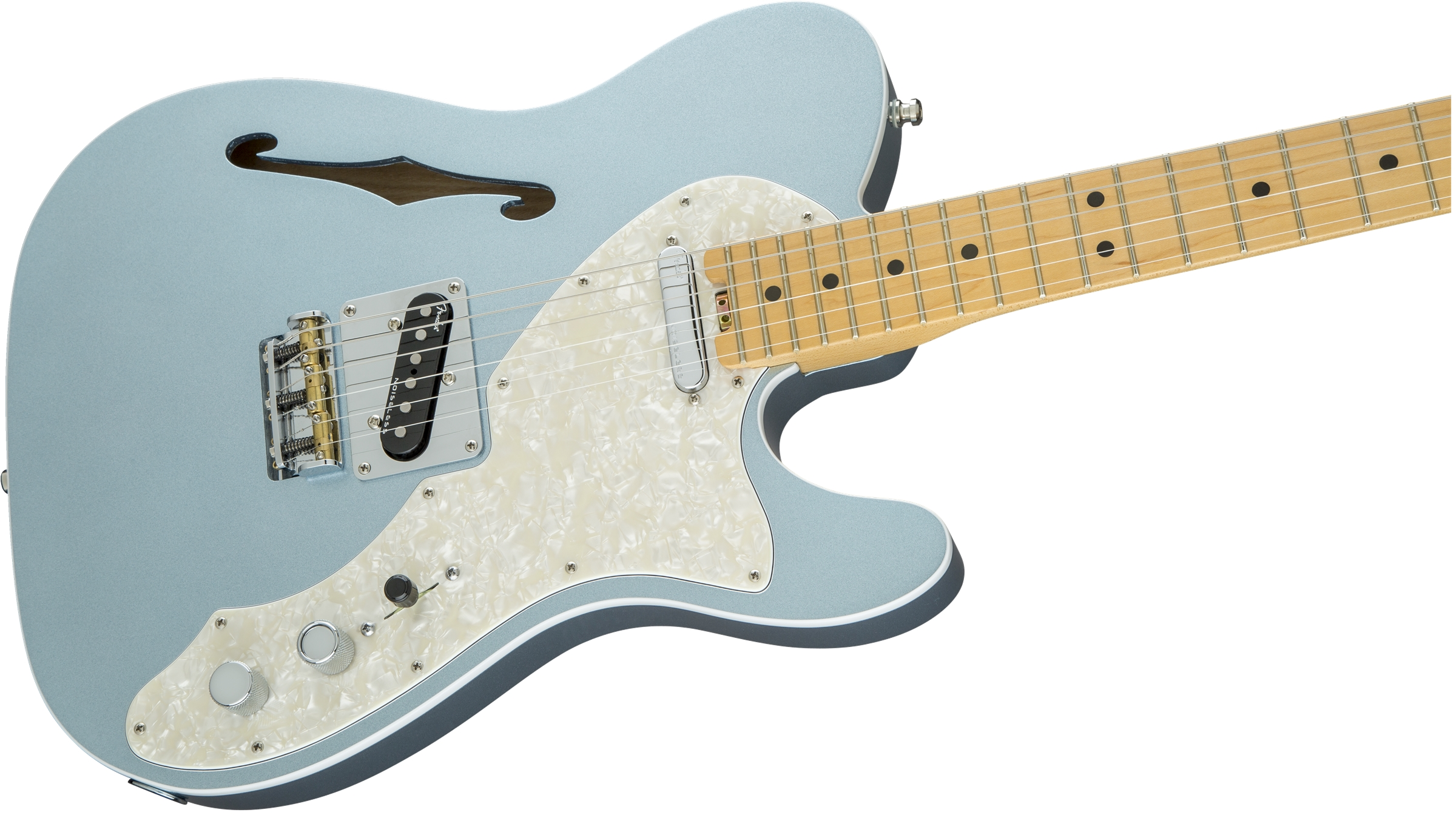 AMERICAN ELITE TELECASTER® THINLINE MYSTIC ICE BLUE
