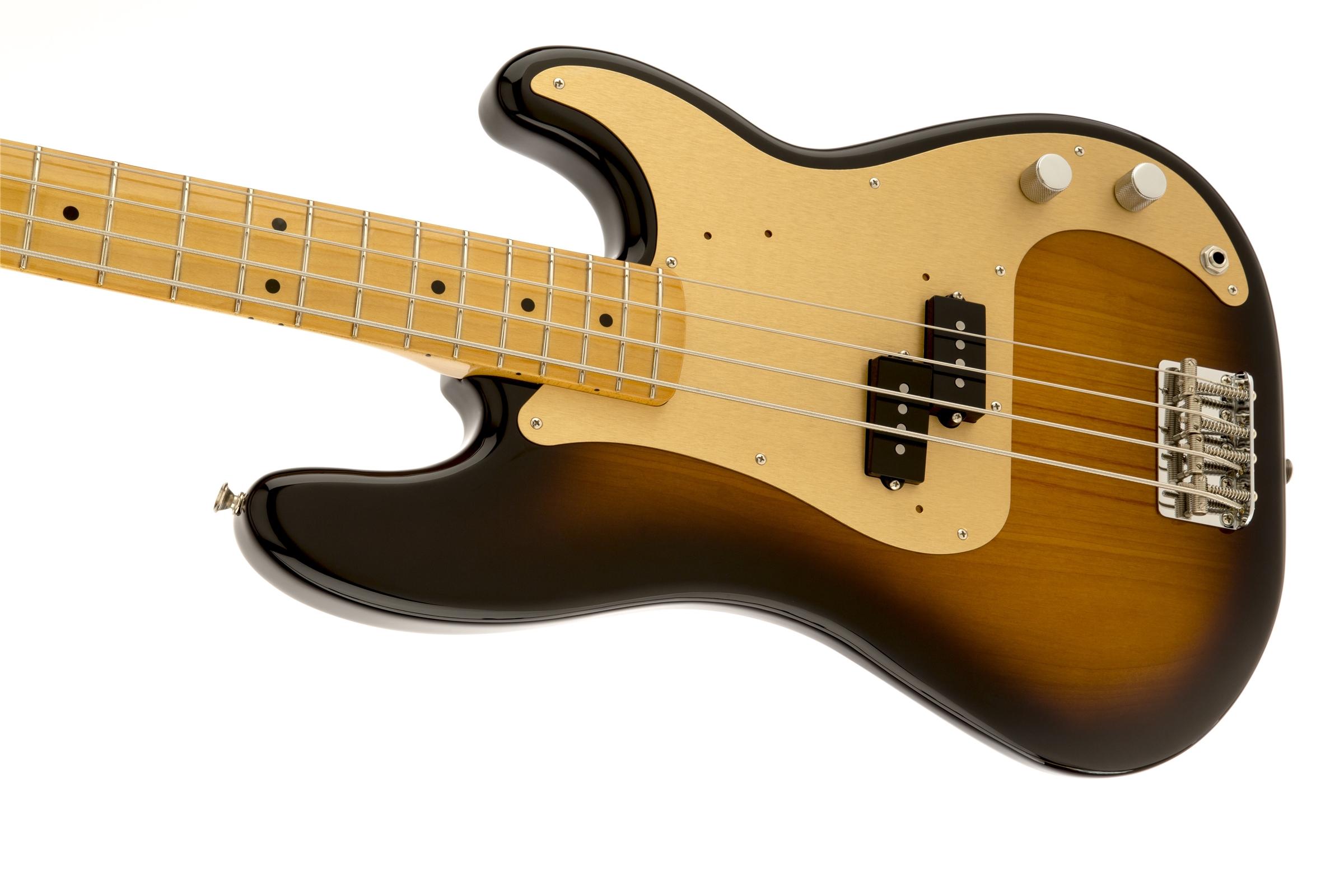 fender 39 50s precision bass maple fingerboard 2 color sunburst. Black Bedroom Furniture Sets. Home Design Ideas