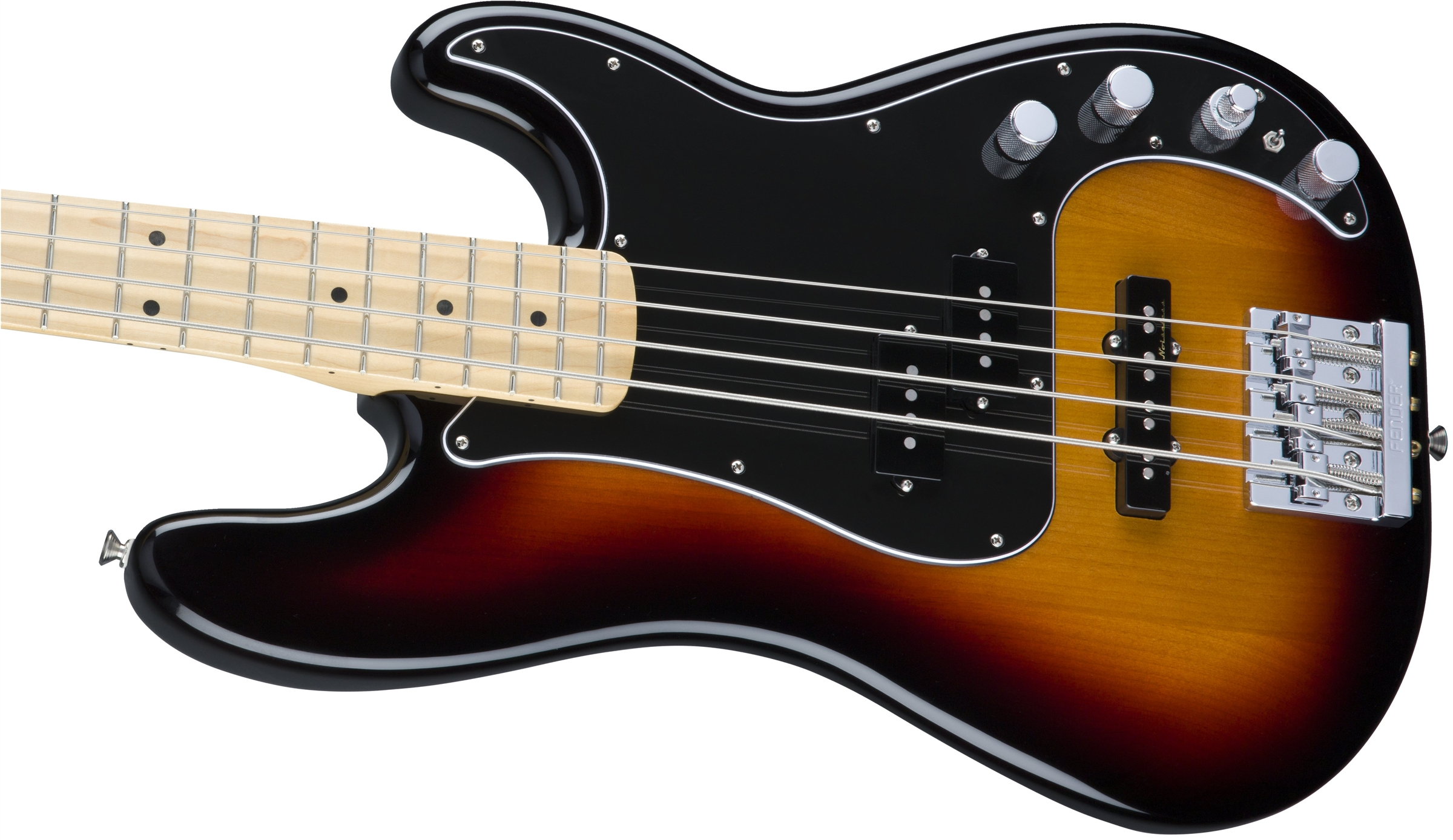 Fender Deluxe Active P Bass & 174 Special Maple Fingerboard 3