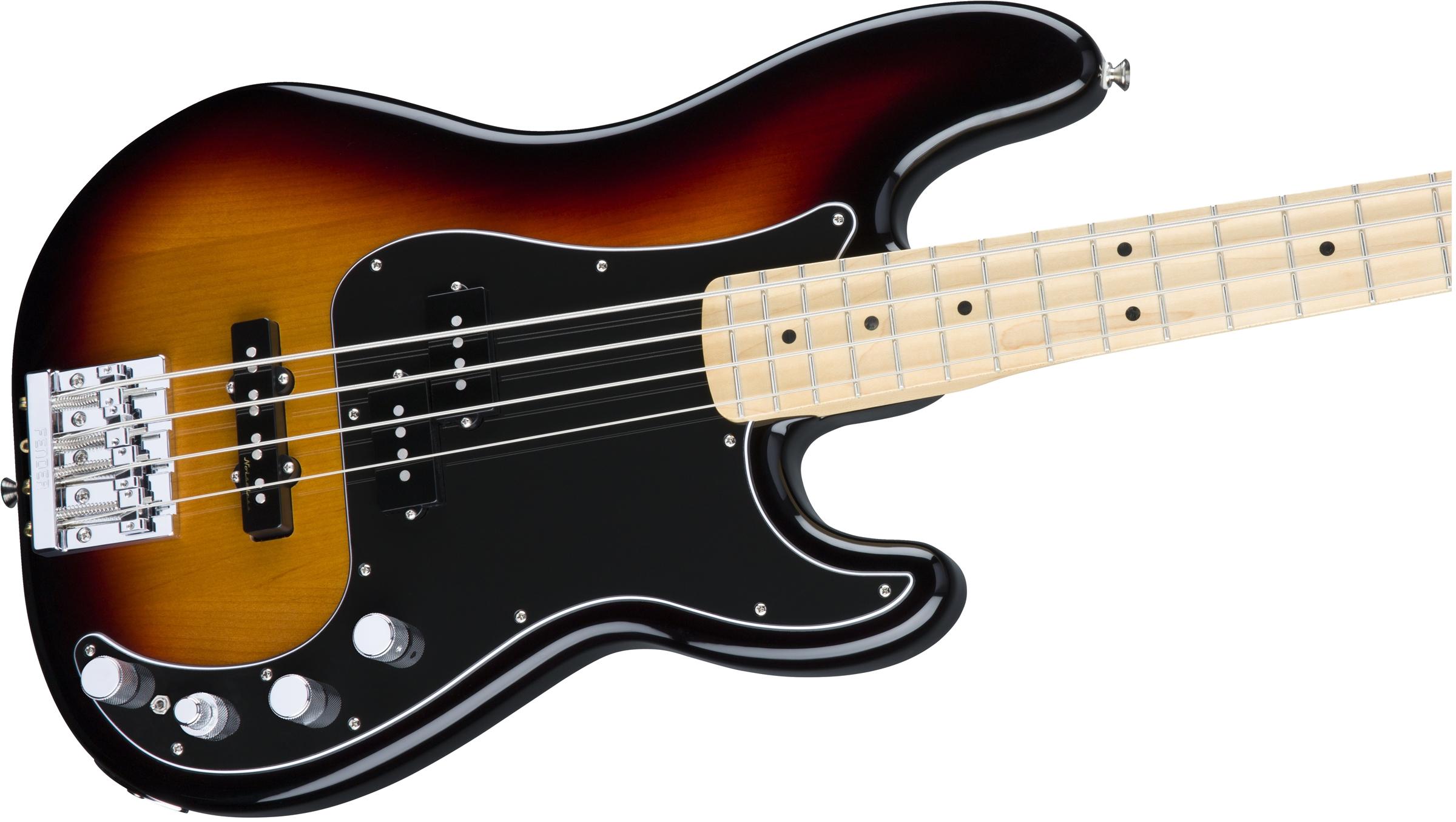 Fender deluxe active p bass special maple fingerboard