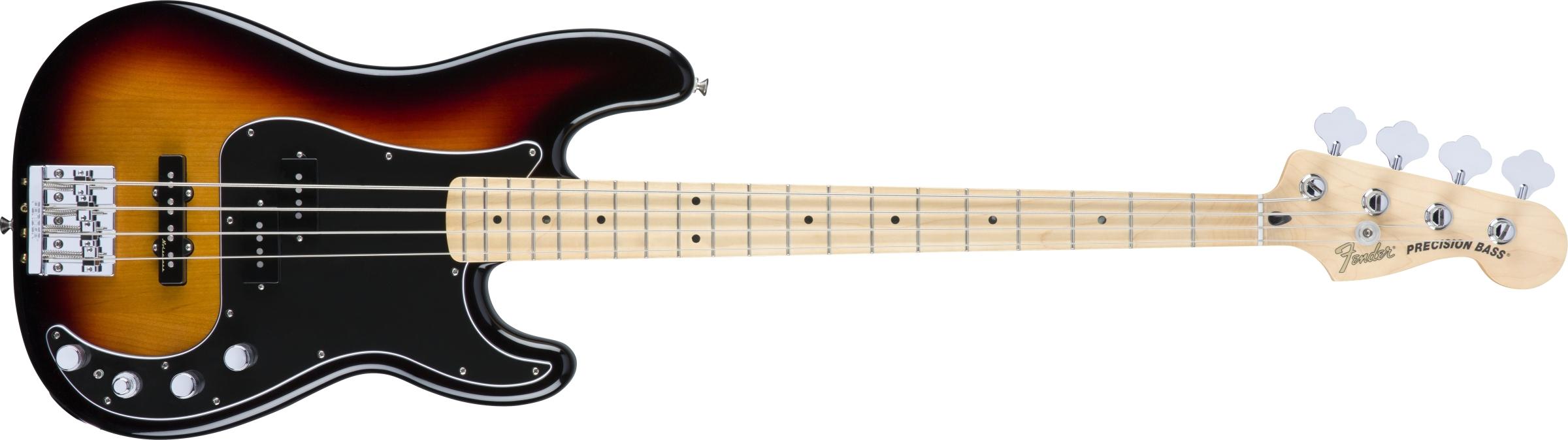 Fender Deluxe Active P Bass 174 Special Maple Fingerboard 3