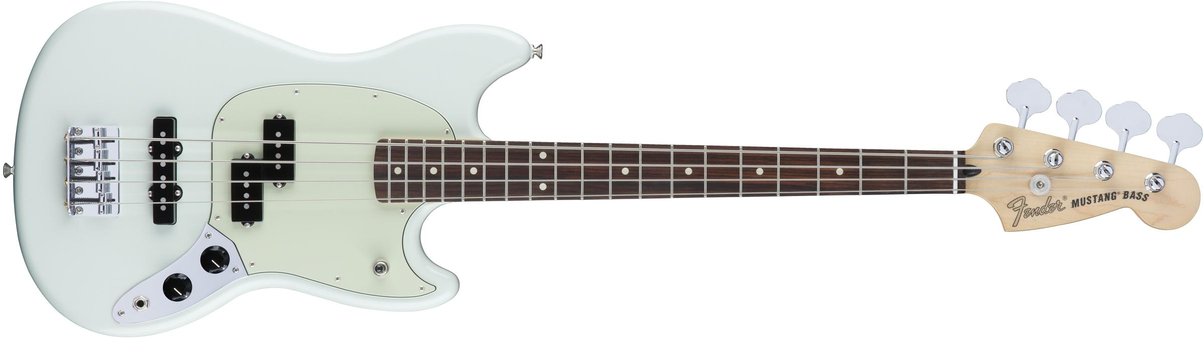Fender Mustang® Bass PJ  Fender Mustang�...