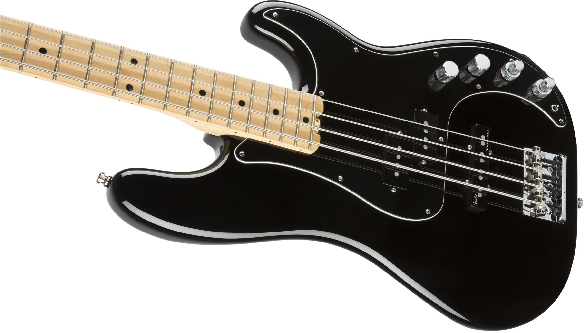 fender american elite precision bass maple fingerboard black. Black Bedroom Furniture Sets. Home Design Ideas