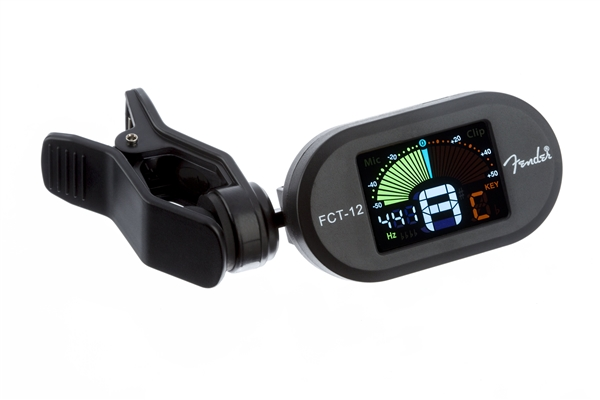 fender fct 12 color clip on tuner fender tuners. Black Bedroom Furniture Sets. Home Design Ideas