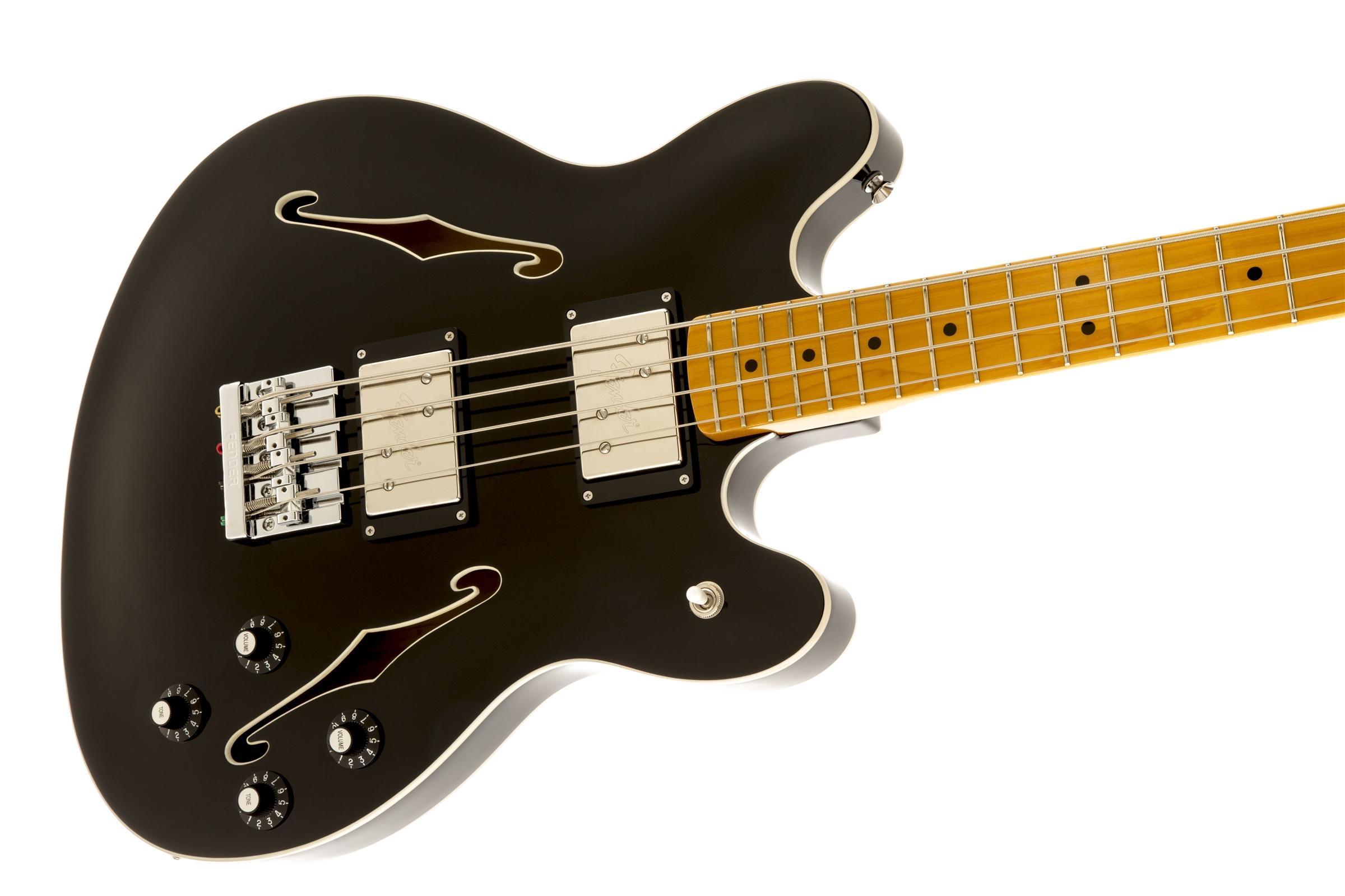 Fender Starcaster 174 Bass Maple Fingerboard Black