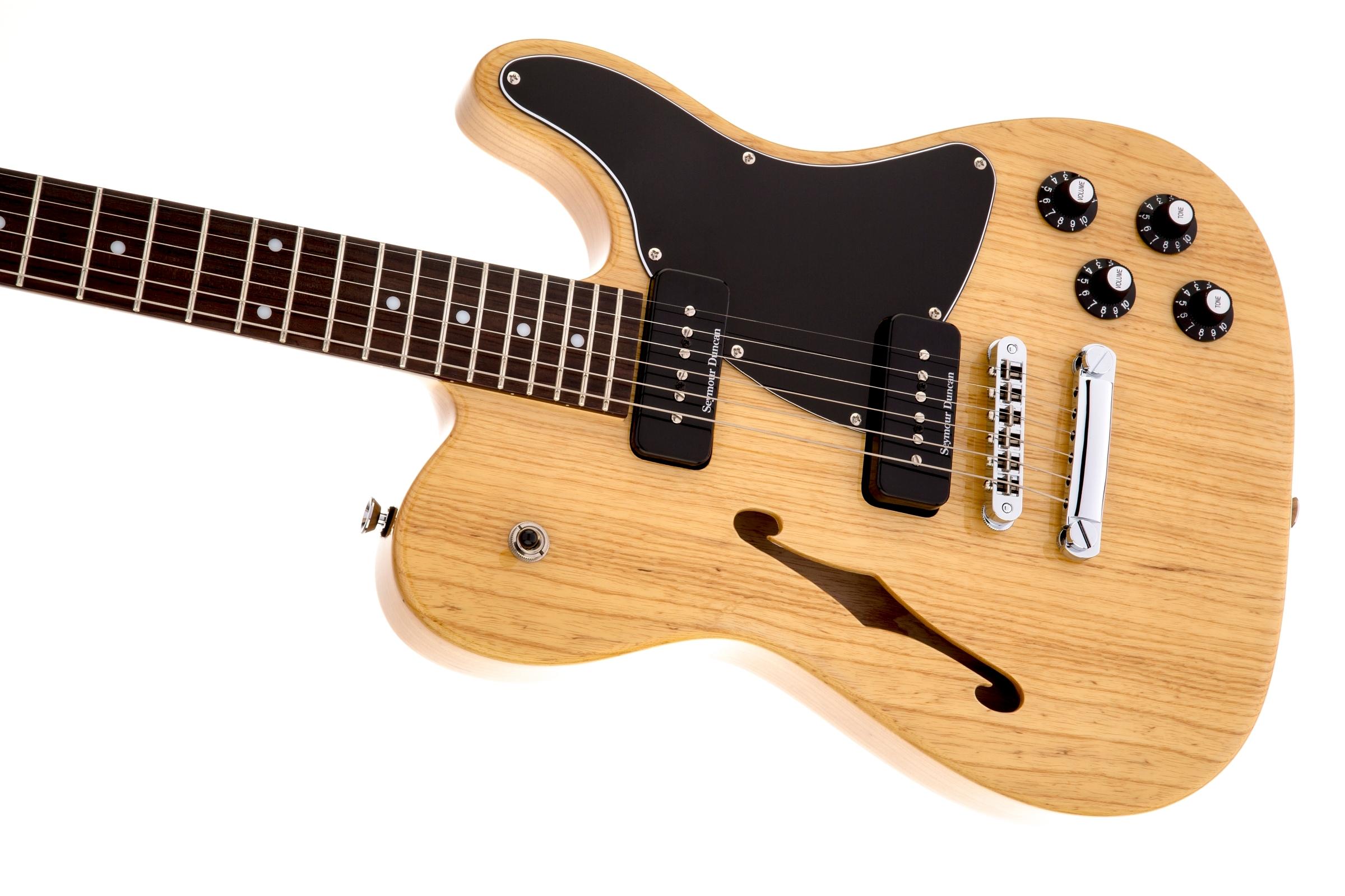 jim adkins ja 90 telecaster thinline rosewood fingerboard natural fender electric guitars. Black Bedroom Furniture Sets. Home Design Ideas