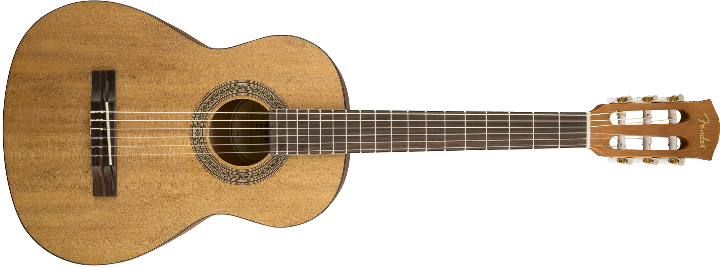 mc 1 3 4 nylon fender acoustic guitars. Black Bedroom Furniture Sets. Home Design Ideas