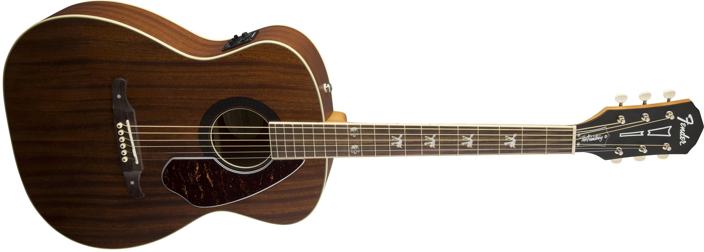 tim armstrong hellcat fender acoustic guitars. Black Bedroom Furniture Sets. Home Design Ideas